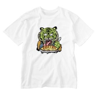 サイケデリックトラ(B) Washed T-shirts