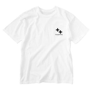 Qiita:ShopのIncrements ロゴマーク Washed T-shirts