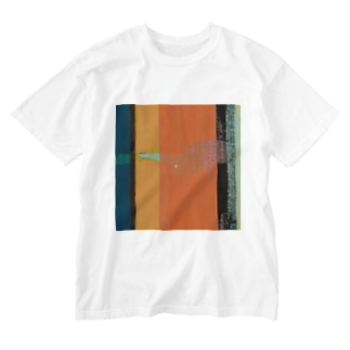 Ghost Lines - L Washed T-shirts