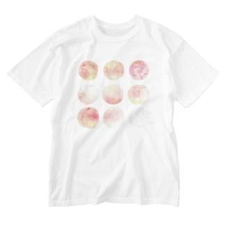 桃桃桃桃桃桃桃桃猫 Washed T-shirts