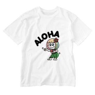 フラアロハ(ハワイを愛するあなたへ) Washed T-Shirt