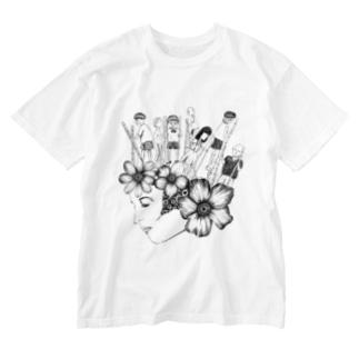 行方不知の子どもたち Washed T-shirts