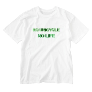 NO UNICYCLE NO LIFE Washed T-shirts
