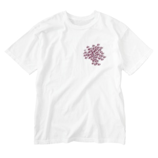 ヒレナガハタ(イナイ) Washed T-shirts