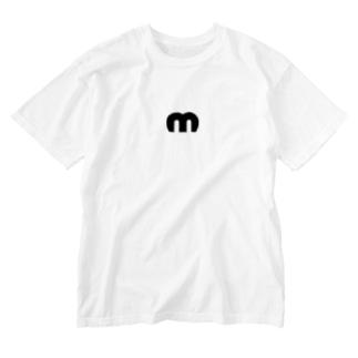 Mechuロゴ Washed T-shirts