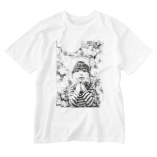 夢ミル少年 Washed T-shirts