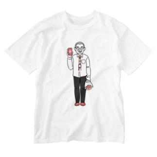 「デザケイ®」の人 Washed T-shirts