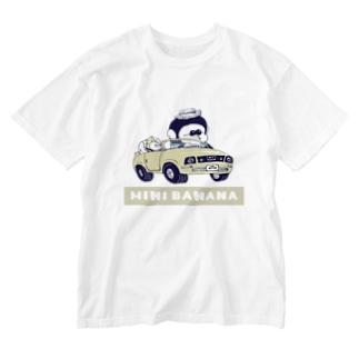 MINI BANANA 車 Washed T-shirts