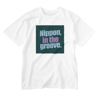 Nippon, in the groove-2 Washed T-shirts