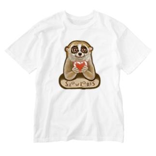 スローロリス SLOW LORIS Washed T-shirts