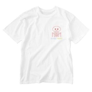 てんてん骸骨 Washed T-shirts