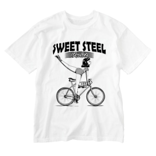"""""""SWEET STEEL Cycles"""" #1 Washed T-Shirt"""
