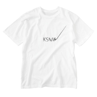KSNM書き損じ Washed T-shirts