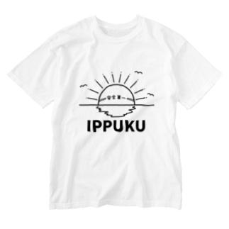 IPPUKU + 安全第一 Washed T-shirts