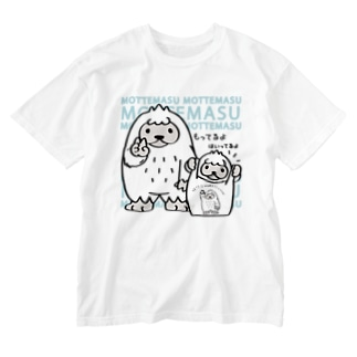 CT111 YETI is yeah*A*エコバッグもってます Washed T-shirts