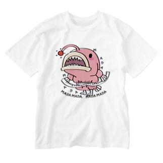 CT114 海の底のあんこ姫*まだまだいける Washed T-shirts