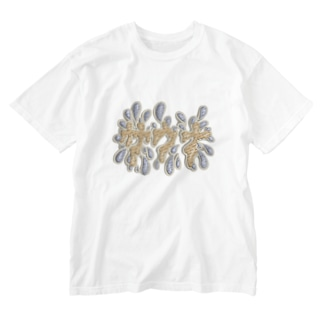 prunelleのサウナ Washed T-shirts