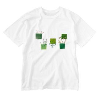 こころの庭 Washed T-Shirt