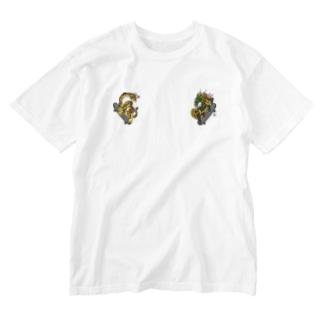 Tiger&Dragon Skate T-shirts Washed T-shirts