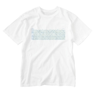 昭和47年信越本線ダイヤグラム (抜粋)グラス・カップ Washed T-shirts