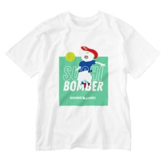 スシボンバー Washed T-shirts