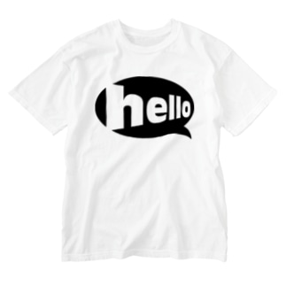 hello Washed T-shirts