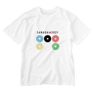 真田幸村【東京オリンピック記念】 Washed T-shirts