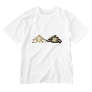 スミスとセイロン Washed T-shirts
