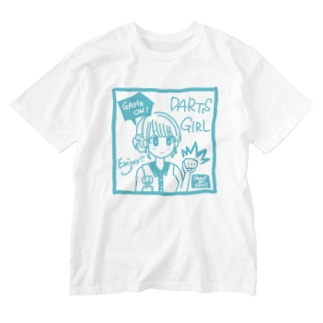 GAME ON! 【SWEET LIGHTBLUE】 Washed T-shirts