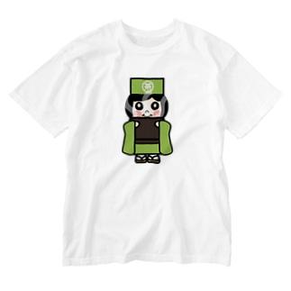 お茶子ちゃん Washed T-shirts
