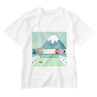 銭湯 Washed T-shirts