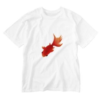 金魚 Washed T-shirts