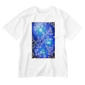 時澗の森 Washed T-shirts