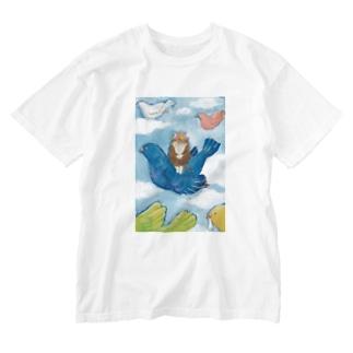 わたしの青い鳥 Washed T-shirts