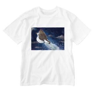 星をつくる仔猫 Washed T-shirts
