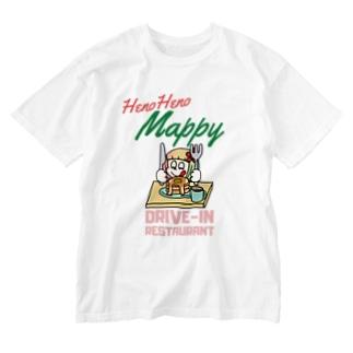 ハワイのドライブイン Washed T-Shirt