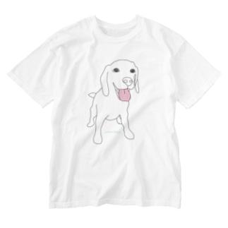 wankoro_simple Washed T-shirts