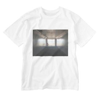 癒しの風景(海への入口) Washed T-shirts