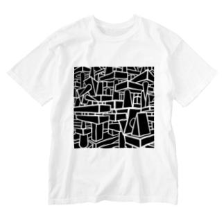 【クソったれコロナ!】海野貴彦デザイン  Washed T-shirts
