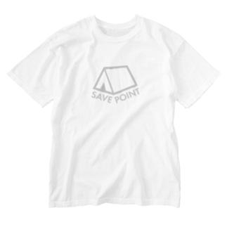 セーブポイント Washed T-shirts