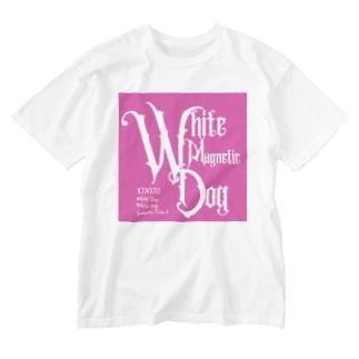 マヤ暦★銀河の署名★オンラインショップのKIN170白い磁気の犬 Washed T-Shirt