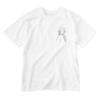 きらきらひかるモーツァルト【作曲家シリーズ】 Washed T-shirts