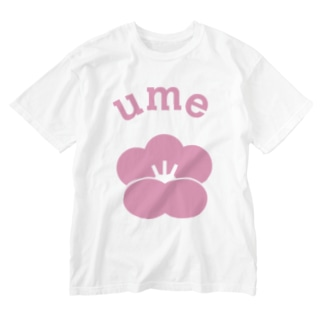 NICE ONEのume Washed T-shirts