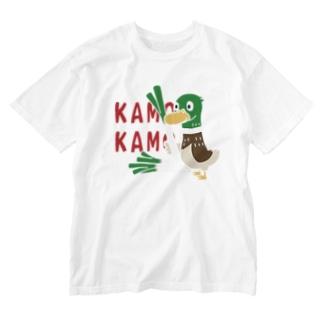 CT158 鴨カモ カモかも*C Washed T-shirts