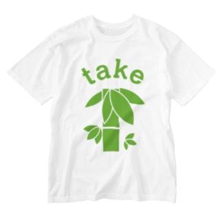 NICE ONEのtake Washed T-shirts