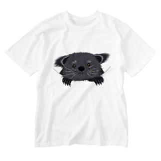 ビントロングぅー Washed T-shirts