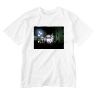 おれたちの光 スーパー玉出 Washed T-shirts