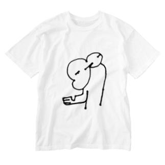 もおう Washed T-shirts