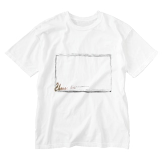 Choose happiness. Washed T-Shirt
