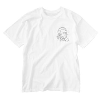 さすらいのシューベルト【作曲家シリーズ】 Washed T-shirts